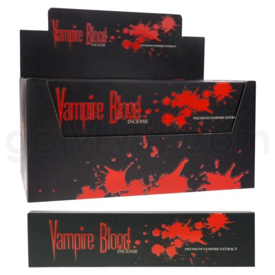 DISC Vampire Blood Incense 40g/12ct