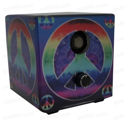 DISC Vaporizer Vapure Cube Non Digital Peace Sign