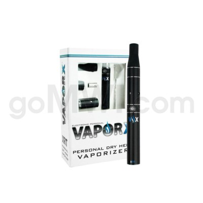 DISC Vaporizer  XRT Dry Herb Vaporizer - 1 Battery - Black