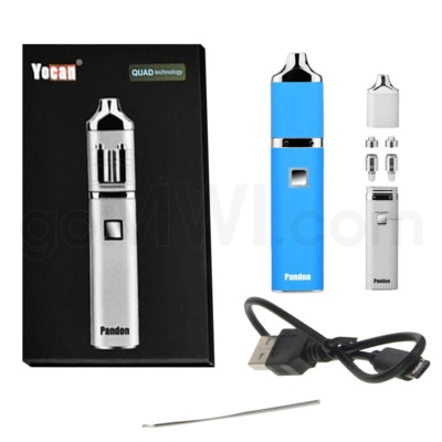 Yocan Pandon Quad 1300mah Concentrate Vaporizer Kit-Blue