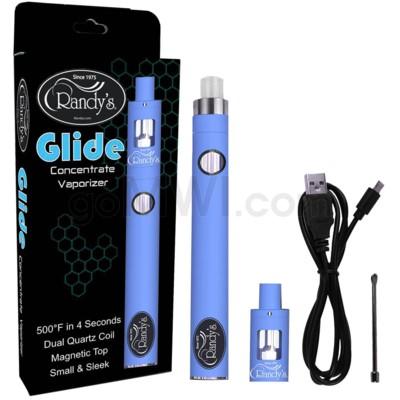 Randy's Glide Concentrate Vaporizer Starter Kit-Blue