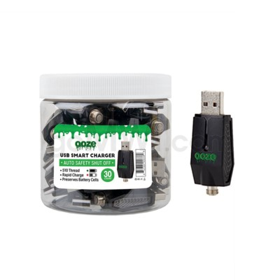 Ooze USB Smart Charger 30ct/jar