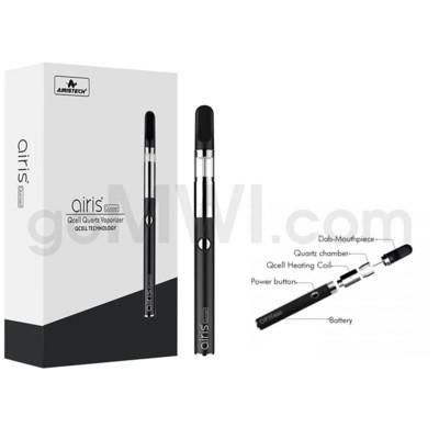 Airistech Quaser Wax Pen VV Qcell Quartz Coil