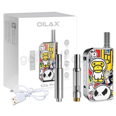 CITO Pro Vaporizer Wax & Oil liquid  2 In 1 Kit - Monkey Boy
