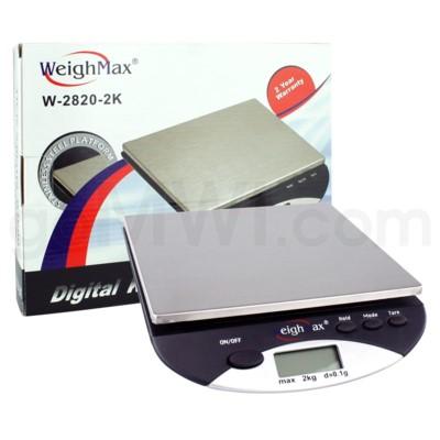 WeighMax 2820-2K 2000g 2kg x 4.4 lbs Kitchen Scales