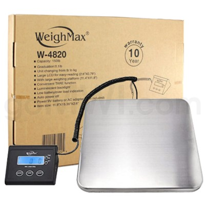 WeighMax 4820 68kg x 150lbs Shipping Scales