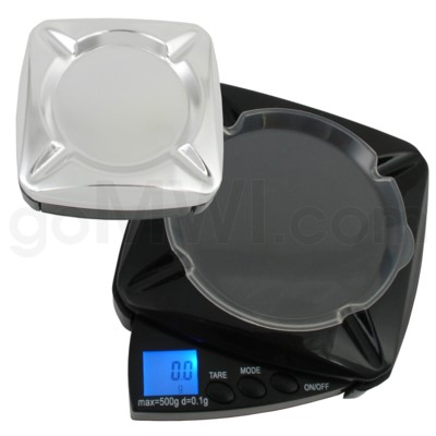 DISC WeighMax 500g 0.1g Ashtray Blade Scales