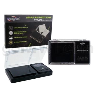 WeighMax GTS-100 100g x 0.01g Pocket Scales