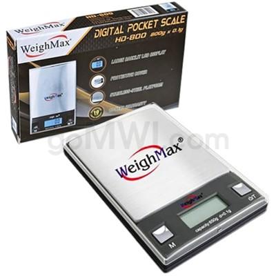 WeighMax HD-800 800g 0.1g Pocket Scales