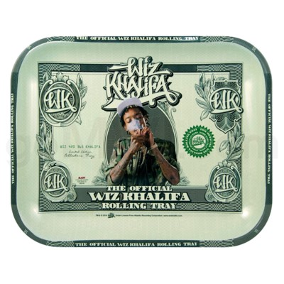 Raw Wiz Edition Rolling Tray Large