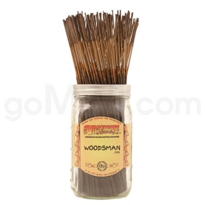 Wildberry Incense Woodsman 100/ct