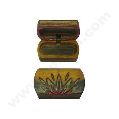 Wooden Pipe Storage Box