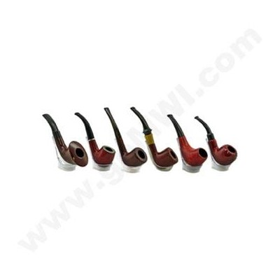 DISC Wooden Pipe display 6 ct.