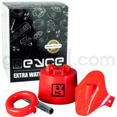 EYCE Xtra Pipe Kit 4x4x4in Silicone Red