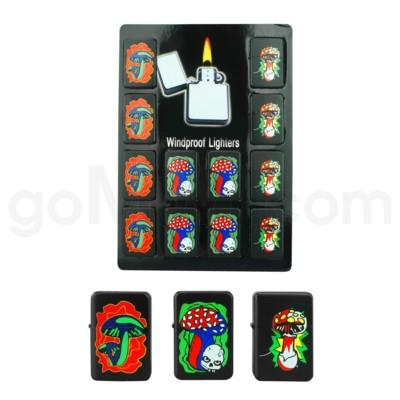 DISC Oil Lighter Mushroom LOL 12PC/BX 30/CS 360 Total