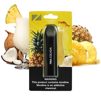 Z Pen Disposable Nic Salt E-Cig 5% Nicotine- Pina Colada 5CT
