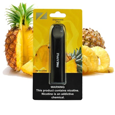 Z Pen Disposable Nic Salt E-Cig 5% Nicotine- Pineapple 5CT