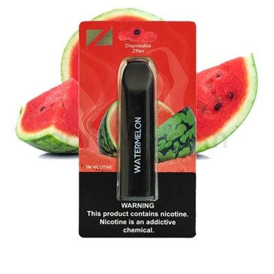 Z Pen Disposable Nic Salt E-Cig 5% Nicotine- Watermelon 5CT