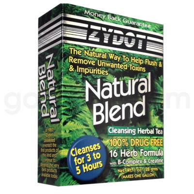 DISC Zydot Natural Blend Cleansing Herbal Tea 1oz