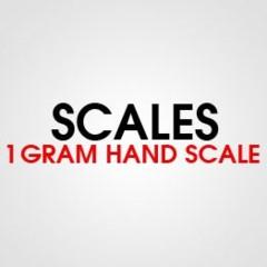 1 GRAM HAND SCALE
