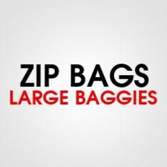LARGE ZIP BAGGIES
