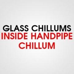 GLASS INSIDE HANDPIPE CHILLUM