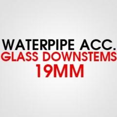 GLASS DOWNSTEMS 19MM