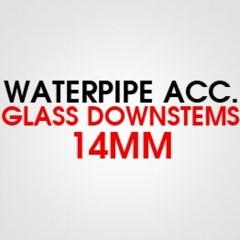 GLASS DOWNSTEMS 14MM