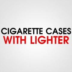 CIGARETTE CASE WITH LIGHTER
