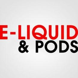 E-LIQUID & PODS