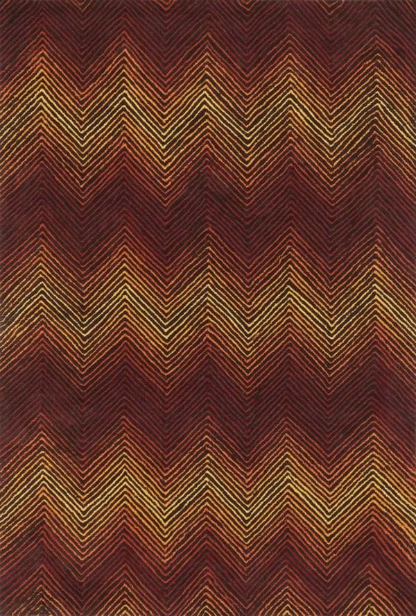Loloi Boca: Brown / Spice