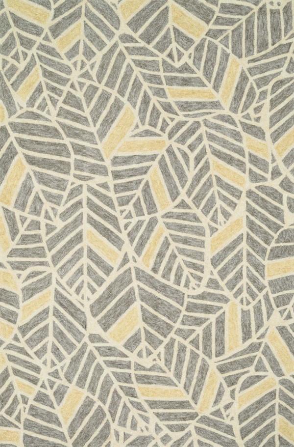 Loloi Tropez: Grey / Gold