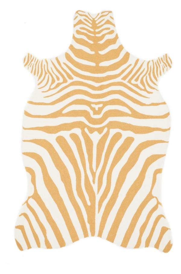 Loloi Zadie: Gold / White