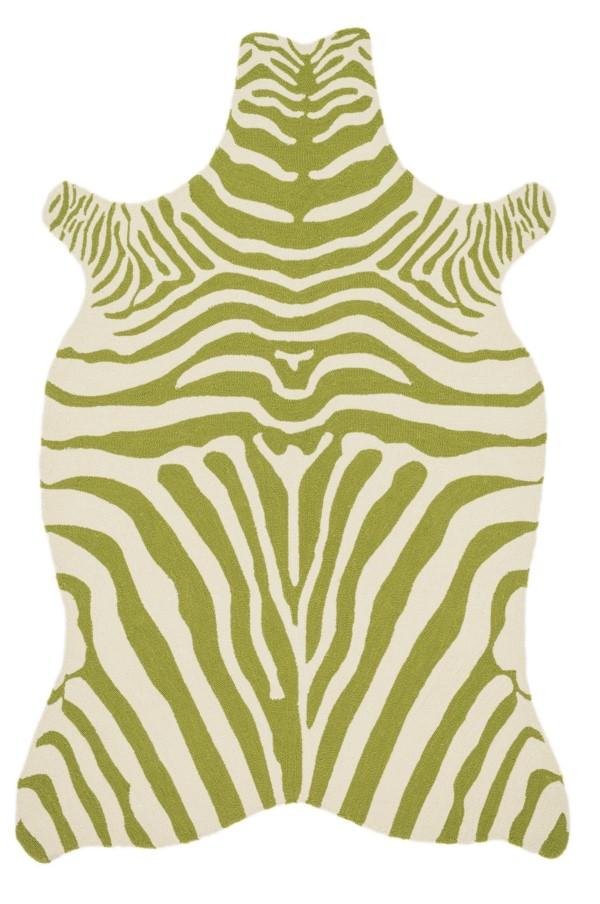Loloi Zadie: Green / Ivory
