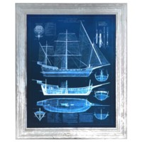 ANTIQUE SHIP BLUEPRINTS 1