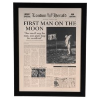 FIRST MAN ON MOON