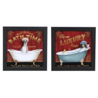 BATH TIME, LUXURY SOAPS (PAIR)