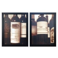 WINE BOTTLES 1&2 (SET)