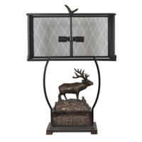 Edison Elk Table Lamp