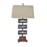 Fish Plack Table Lamp