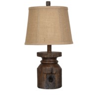 Barn Post Accent Lamp