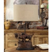 Bull Run Table Lamp