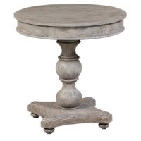 Hawthorne Estate Round Turned Post Accent Table