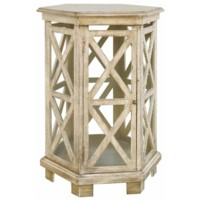 Brookline Hexagon Accent Table