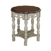 Somerset Two Tone Accent Table