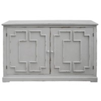 Lydia Pale Grey 2 Door Cabinet