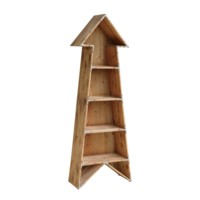 Chickasaw Rustic Wood Arrow Bookshelf