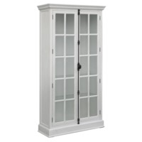 Coventry White 2 Door Curio Cabinet