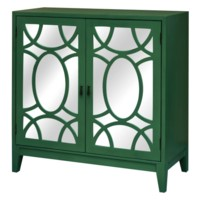 Greenery 2 Door Mirrored Cabinet