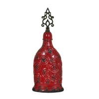Medium Circles Finial Vase
